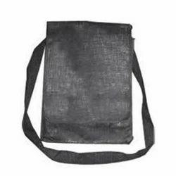 Black Jute Conference Sling Bags