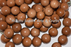 Sandalwood Dharma Beads