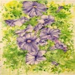 flower watercolor paintings and realistic fine art manufacturer