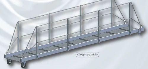 Step Ladder Gs Manufacturers Mail: Aluminium Gangway Ladder Manufacturer From Bhavnagar
