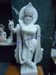 Marble Krishna Religious Statue
