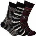 Men Striped Socks