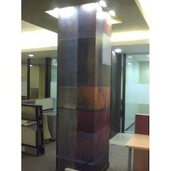 Office Pillar Graphics
