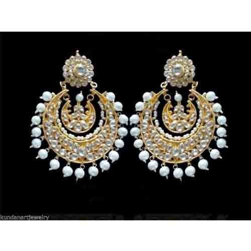 1fbbdf61b0c78 Antique Earrings Gold Plated-Bollywood Earrings Ram-Leela - Teena's ...