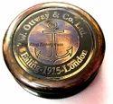 Antique Lid Brass Compass