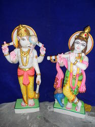 Handicrafts Marble Dashavatar Statue