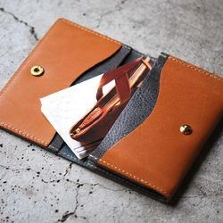 Brown Leather Unisex Business Card Case, for Id Card