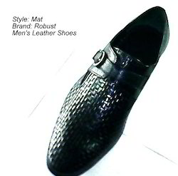 Mat Design Leather Shoes