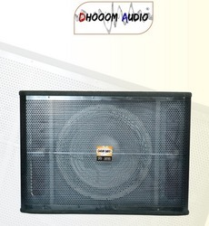 DJ Speaker Bass Cabinet 718