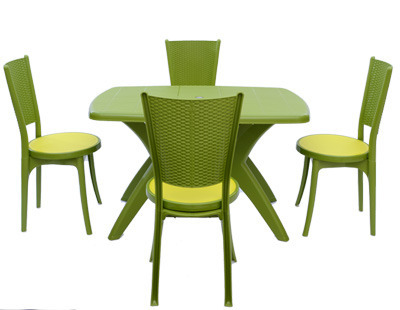 Iris With Melody Dining Table Chair