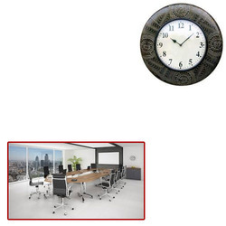 Wooden Clock For Office