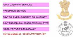 Govt Liasoning / Schemes & Subsidy Consultancy