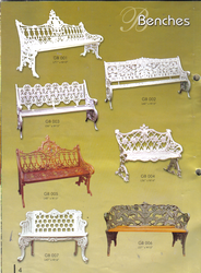 Decorative Garden Cast Iron Benches