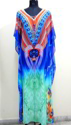 Cotton Digital Printed Kaftan