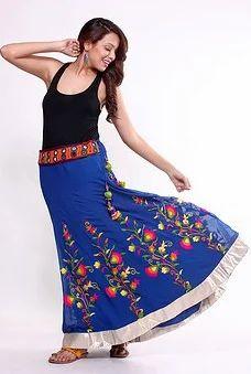 fdd4c2d66 Flared Multicoloured Full-Length Skirt at Rs 4299 | Female Skirts ...