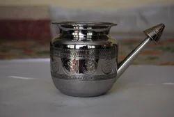 Neti Pot - Stainless Steel Om