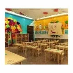 Kids Classroom Interior Design Service