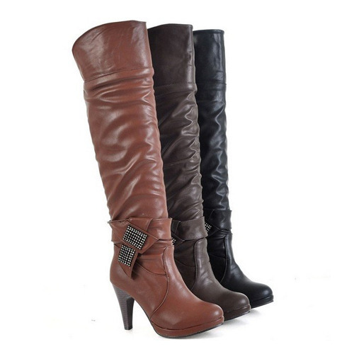 85893520a321 High Heel Boot at Best Price in India
