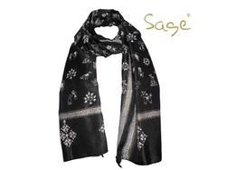 Vintage Silk Handmade Kantha Scarves