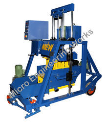 Semi Automatic Hydraulic Concrete Block Making Machine