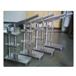 Lanyard Notch Press Machine