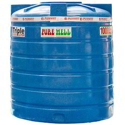 Purewell HDPE Industrial Water Tank, For Water Storage