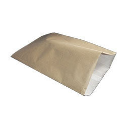 Brown And White HDPE Laminated Paper Bag