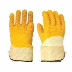 Cotton Supported Latex Coating Gloves