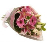 Pink Mixed Floral Bouquet
