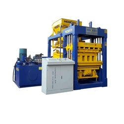 Noah Concrete Block Making Machine QT10-15, Overall Dimensions : 6900*5100*2900 mm
