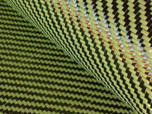 Hybrid Woven Fabric Carbon Fiber Kevlar Cloth