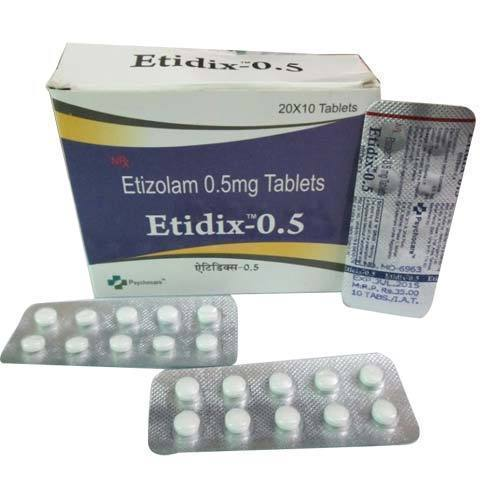 List of Synonyms and Antonyms of the Word: etizolam generic