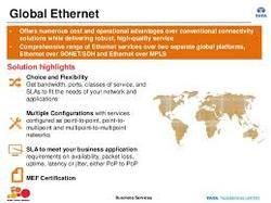 Global Dedicated Ethernet Service