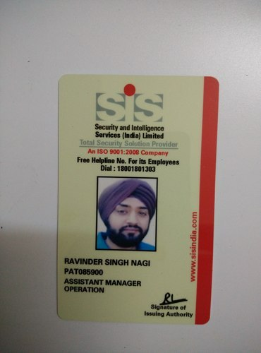 Id Conf-tech Cards Corporate Rectangular piece Id Rs 6197922888 35 Plastic