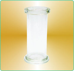 Gas Jar with Ground Glass Flat Flange
