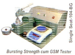 Bursting Strength Cum GSM Tester
