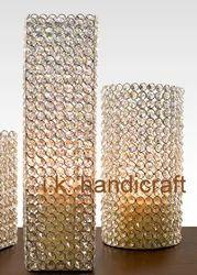 Gold Mercury Pillar Candle Holders Uk - Candle