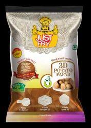 3D Potato Papad TT Bat 200 Grams Pack