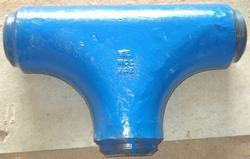 High Pressure Manifold Fittings Tee Casting