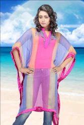 Pink Short Poncho