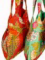 Colorful Kantha Hobo Bag
