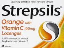 We are engaged in offering Strepsils .