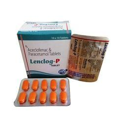 Aceclofenac 100mg and Paracetamol 325mg Tablet