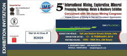 5th International Mining,Exploration, Mineral Exhibition