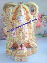 Marble God Tirupati Bala Ji Statue