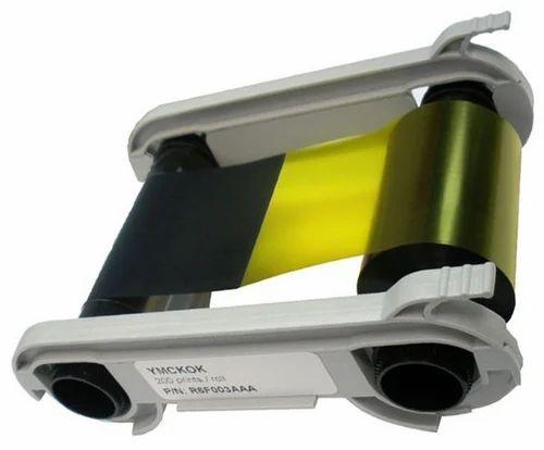 New Sealed 200 Prints Zenius /& Primacy Evolis R5F002AAA YMCKO Color Ribbon