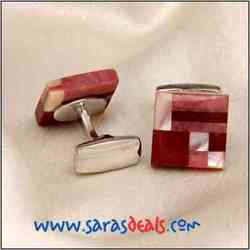 Cufflinks - Adlet Red
