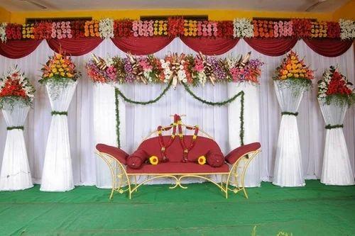 Flower Decoration mayuri flower decoration, nellore - service provider of wedding
