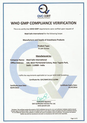 WHO-GMP certification