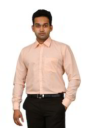 Male Plain Formal Shirts